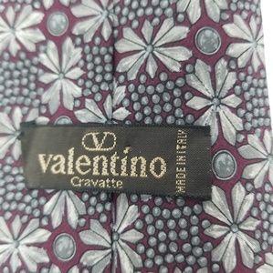 Valentino Vintage Handmade Silk Tie Italian
